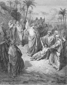 Figura 2. Curación de un endemoniado (Gabriel Dore).