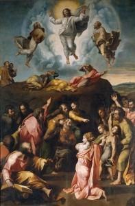 Figura 1. La transfiguración (Rafael Sanzio)