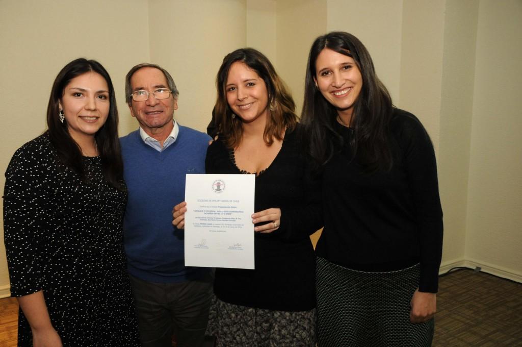 El premio al mejor trabajo libre recayó en el equipo del Hospital Exequiel González Cortés.
